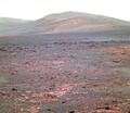 Opportunity's view of 'Solander Point' - False Color.tif