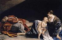 Orazio Gentileschi - Rest on the Flight to Egypt.JPG