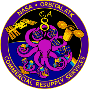 Orbital Sciences CRS Flight 8E Patch.png