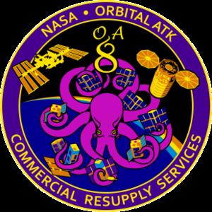 Cygnus CRS OA-8E - Image: Orbital Sciences CRS Flight 8E Patch