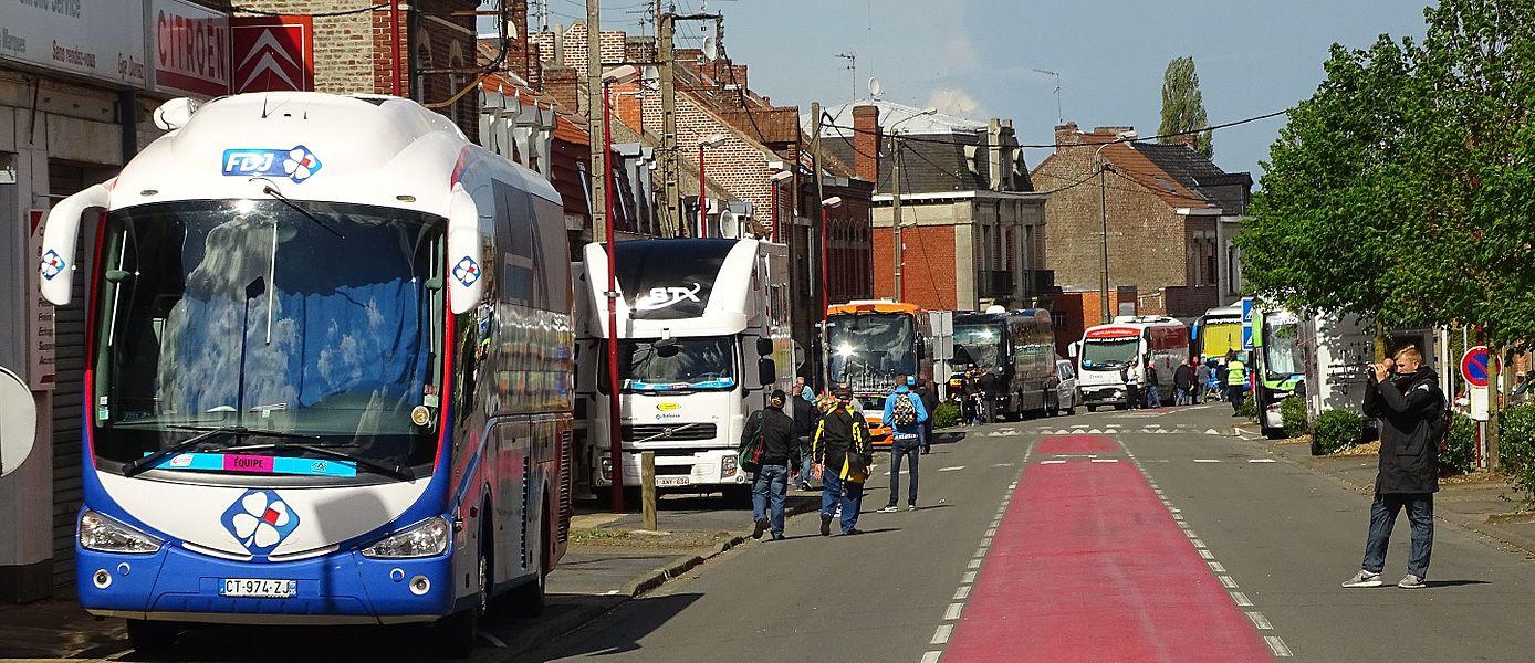 Reportage réalisé le mercredi 6 mai 2015 à l'occasion de l'arrivée de la première étape des Quatre jours de Dunkerque 2015 à Orchies, Nord, Nord-Pas-de-Calais, France.