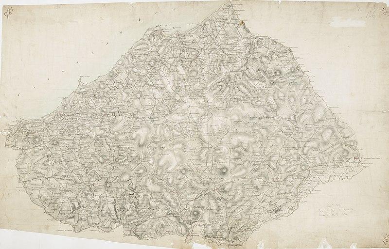 File:Ordnance Survey Drawings - Lampeter, Cardigan (Sir Ceredigeon) (OSD 186).jpg