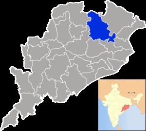 Kendujhar district - Image: Orissa Kendujhar