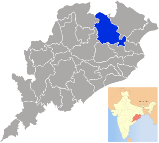 District in Odisha, India