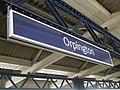 Orpington station signage.JPG