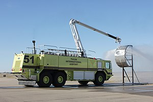 Oshkosh Striker fire rescue vehicle in action.jpg