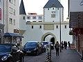 Ostentor von der Kaiserstraße aus gesehen (Fotomontage).jpg