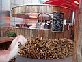 Outdoor bar at the Kempinski Hotel Corvinus. - Budapest.JPG