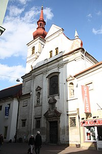 Overview of Saint Joseph church in Brno, Brno-City District.jpg