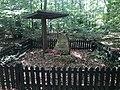 Overview of World War II memorial near Lány, Kladno District.jpg