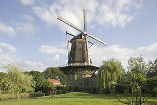 Arkel Town in South Holland, Netherlands