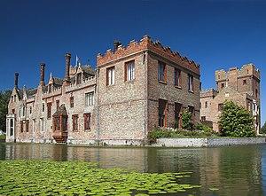 River Gadder - Image: Oxburgh Hall 3