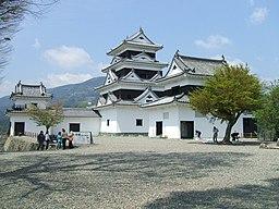 Ozu castle in Honmaru