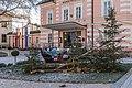 Pörtschach Hauptstrasse 153 Gemeindeamt mit Weihnachtsdekoration 08122016 5532.jpg