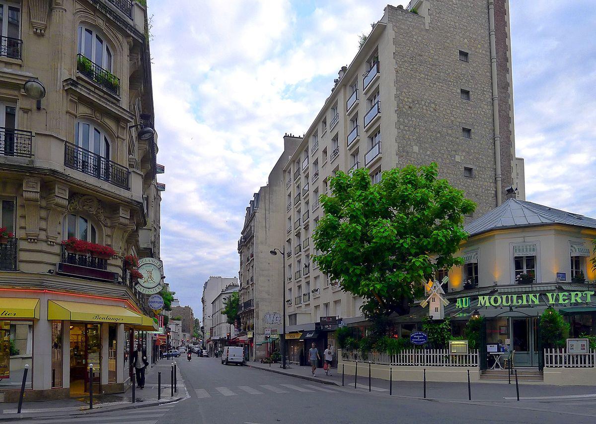 Rue des plantes wikidata for Plantes paris