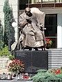 POL Bielsko-Biała Żeromskiego 7 - Kuria Biskupia - Pomnik JPII.JPG