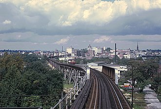 Norristown High Speed Line - Norristown, PA on September, 1969