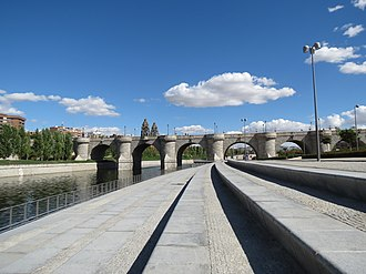Bridge of Toledo (Madrid) - Image: PUENTE DE TOLEDO 092612 008