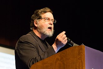 "PZ Myers - PZ Myers presents his talk, ""You, too, can know more molecular genetics than a creationist!"" at Skepticon in 2014."