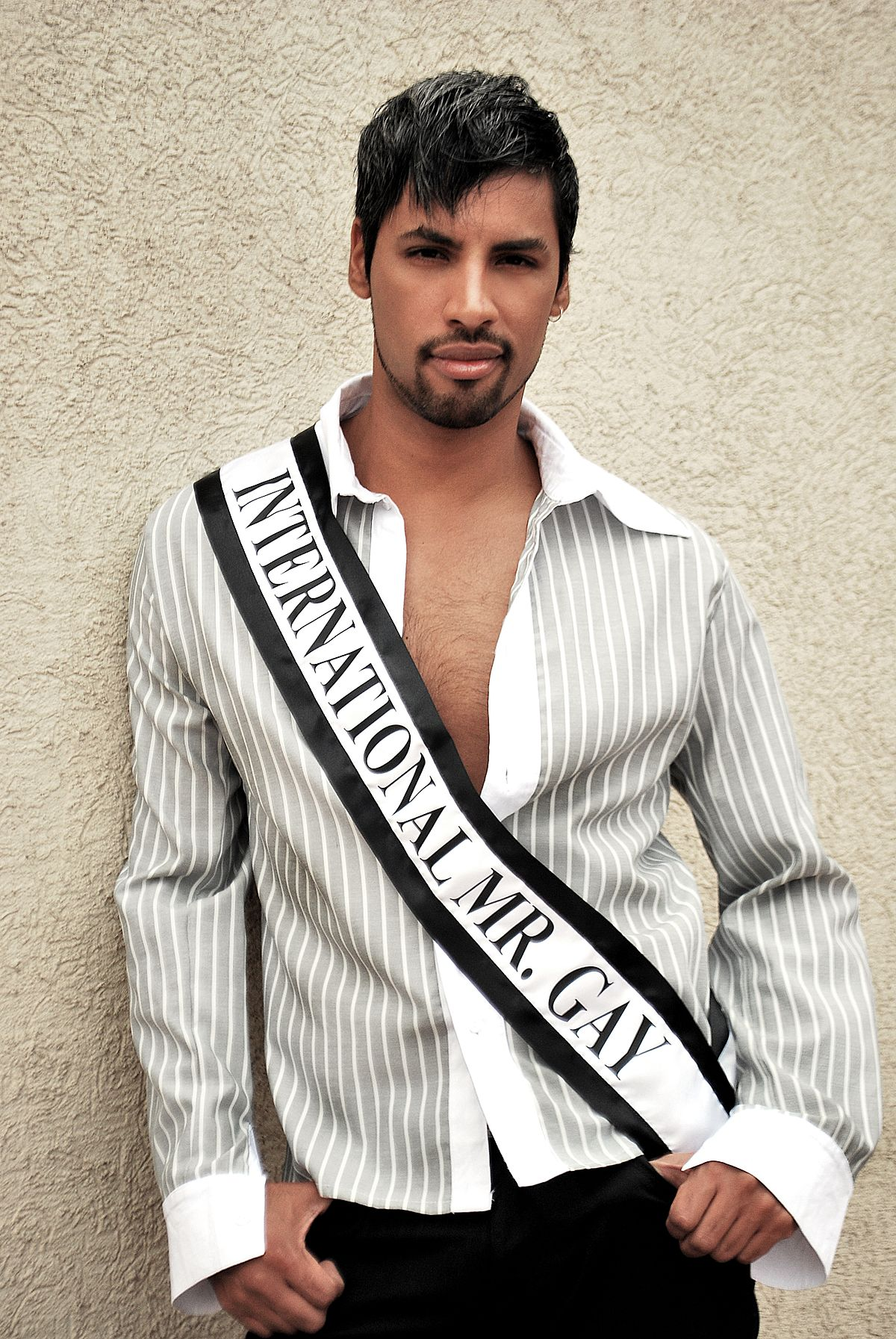 the 8th Mister Gay Chile contest