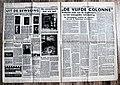 """Pagina 4 & 5 Nederlands (NSB) Nationaal socialistisch Weekblad """"Volk En Vaderland"""" 31 Mei 1940.jpg"""