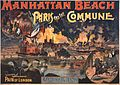 Pain of London fireworks, Paris and the Commune, performance poster, Manhattan Beach, New York, 1891.jpg