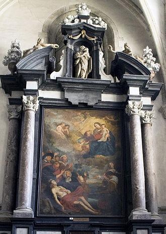 Theodoor van Thulden - Altarpiece in the Sint-Walburgakerk in Oudenaarde