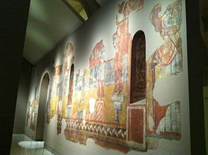 Paintings from Sant Joan in Boí - Image: Paintings from Sant Joan de Boi at MNAC (13)