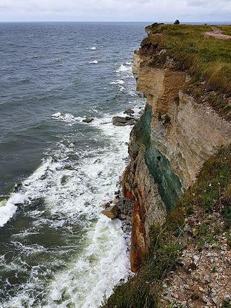 Pakri Peninsula - Cliff on the Pakri Peninsula
