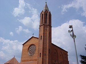 Palau-solità i Plegamans - Image: Palau Solità Església de Sant Genís