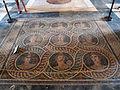 Palazzo dei gran maestri di rodi, sala delle muse, mosaico delle nove muse da kos 00.JPG