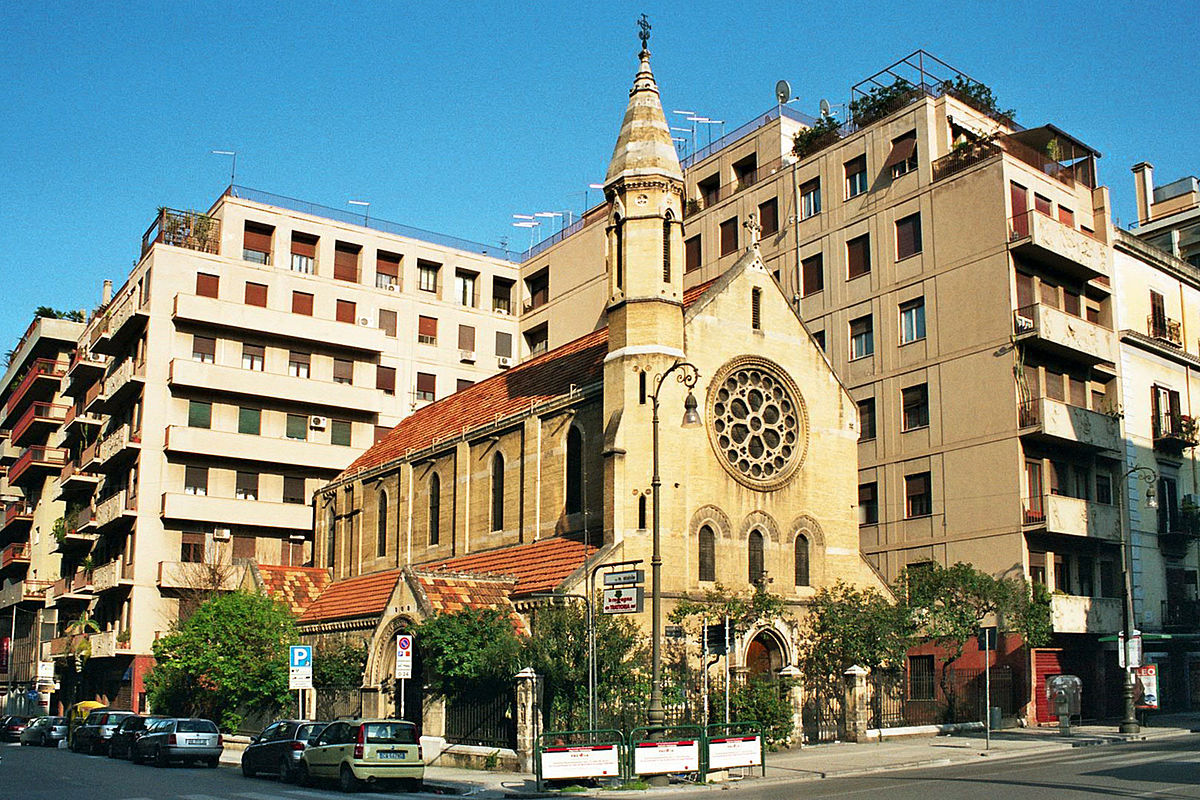 Chiesa anglicana palermo wikipedia for Case in affitto a palermo arredate