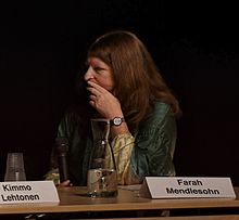 Mendlesohn at Archipelacon in Mariehamn, 2015