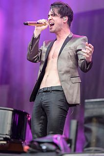 Brendon Urie American singer, songwriter, and musician, lead vocalist of Panic! at the Disco