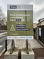 Panneau Annonce Chantier Construction Tramway IdF Ligne 10 Avenue Édouard Herriot - Le Plessis-Robinson (FR92) - 2021-01-03 - 1.jpg