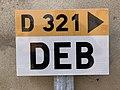 Panneau E53c Deb Route D321 Verosvres 2.jpg