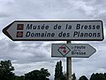 Panneaux Direction Domaine Planons Route Merlières St Cyr Menthon 2.jpg