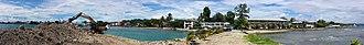 Point Cruz - Image: Panorama of Breakwater, Honiara