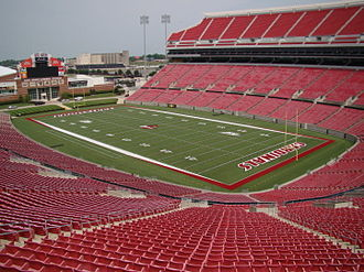 Papa John's Cardinal Stadium - Image: Papa John's Cardinal Stadium after expansion in 2010