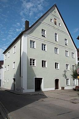 Stadtvogteigasse in Pappenheim