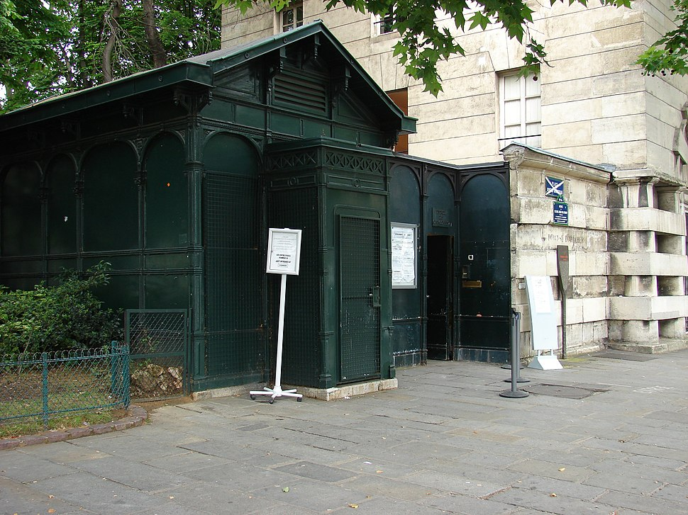 Paris Catacombs Entrance