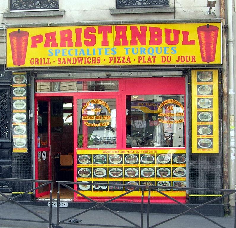 Restaurant Calories Paris