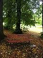 Park Bench in Autumn - geograph.org.uk - 2253098.jpg