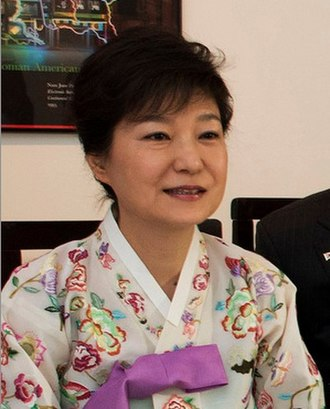 Park (Korean surname) - Former Presidents of South Korea Park Chung-Hee (1963–1979) and his daughter, Park Geun-hye (2013–2017) (pictured) are from the Goryeong clan of the Parks.