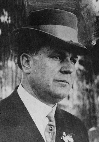 1920 United States presidential election in Montana - Image: Parley Parker Christensen circa 1920 (cropped)
