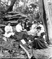 Parsons family picnic group, Georges River, NSW, c.1905. Photographer Unknown. (39623170201).jpg