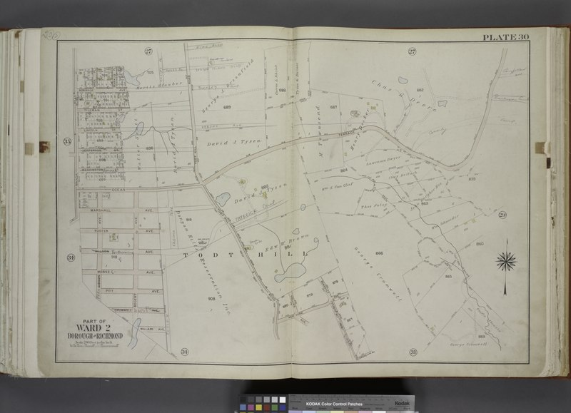 File:Part of Ward 2. (Map bound by Area PL, Franklin PL, Norwalk Ave, Todt Hill Road, Ocean Terrace, Redmond Ave (Fark), Benedict Ave (Atlantic Ave), New York Ave, Millard Ave, Borgert Ave, Pitt NYPL1646250.tiff