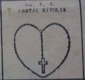 Partai katolik symbol on 1955 ballot paper.png