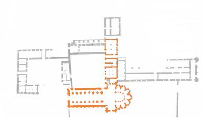 Resultado de imagen de monasterio granja de moreruela planta