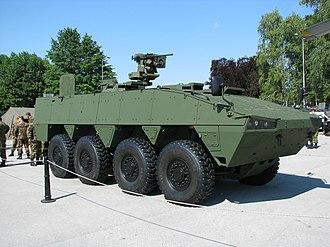 Patria case - Patria AMV